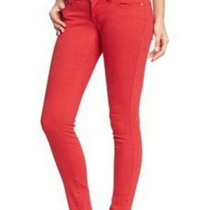 Old Navy Rock Star Jeans Red Skinny
